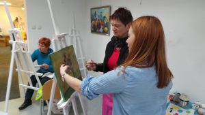 Art lessons for adults