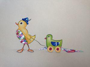 Duckling, Rastem do tebe by Mojca and Peter Endrej