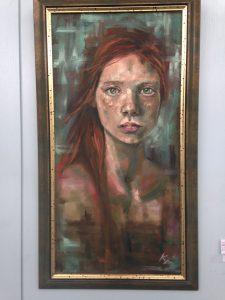 Frackless, oil on canvas 2018