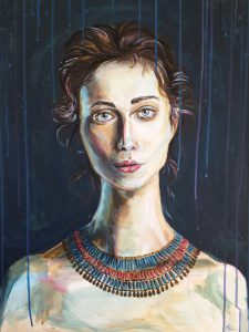 Kleo, acrylic on canvas 2016