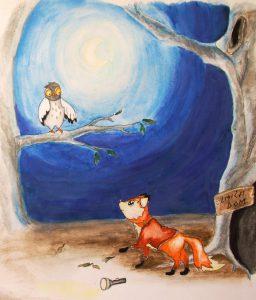 Little fox, terapeutic children's stories