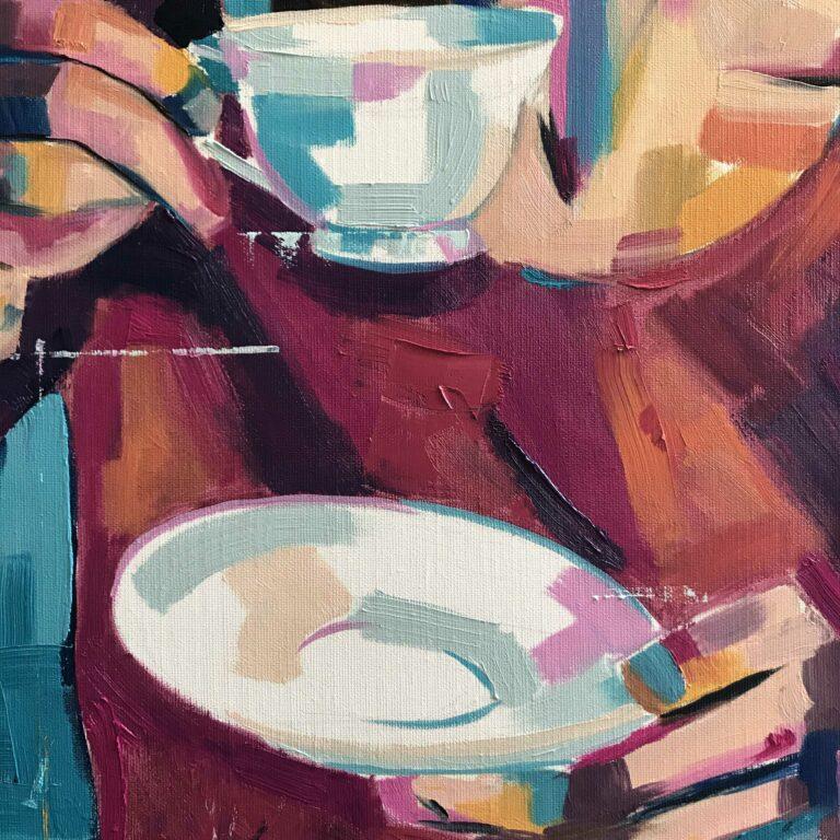 Coffee mug - detail